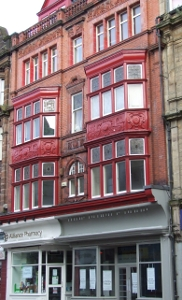 Carson's painters & plasterers Early twentieth century facade