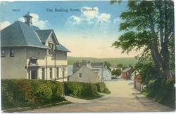 Postcard of Drymen Reading Room